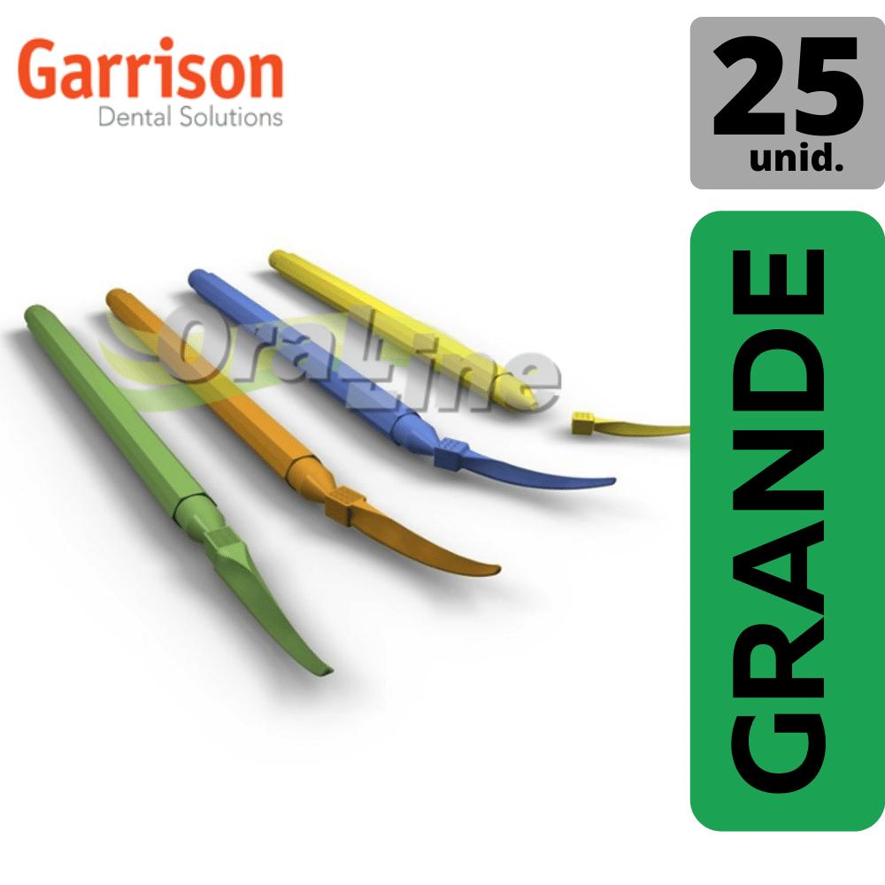 GDS - Cunha Plástica VERDE GRANDE - 25UN