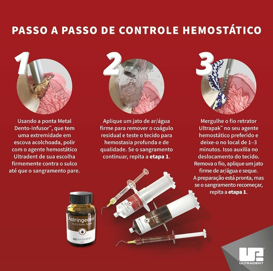 Hemostático Viscostat - 1 seringa