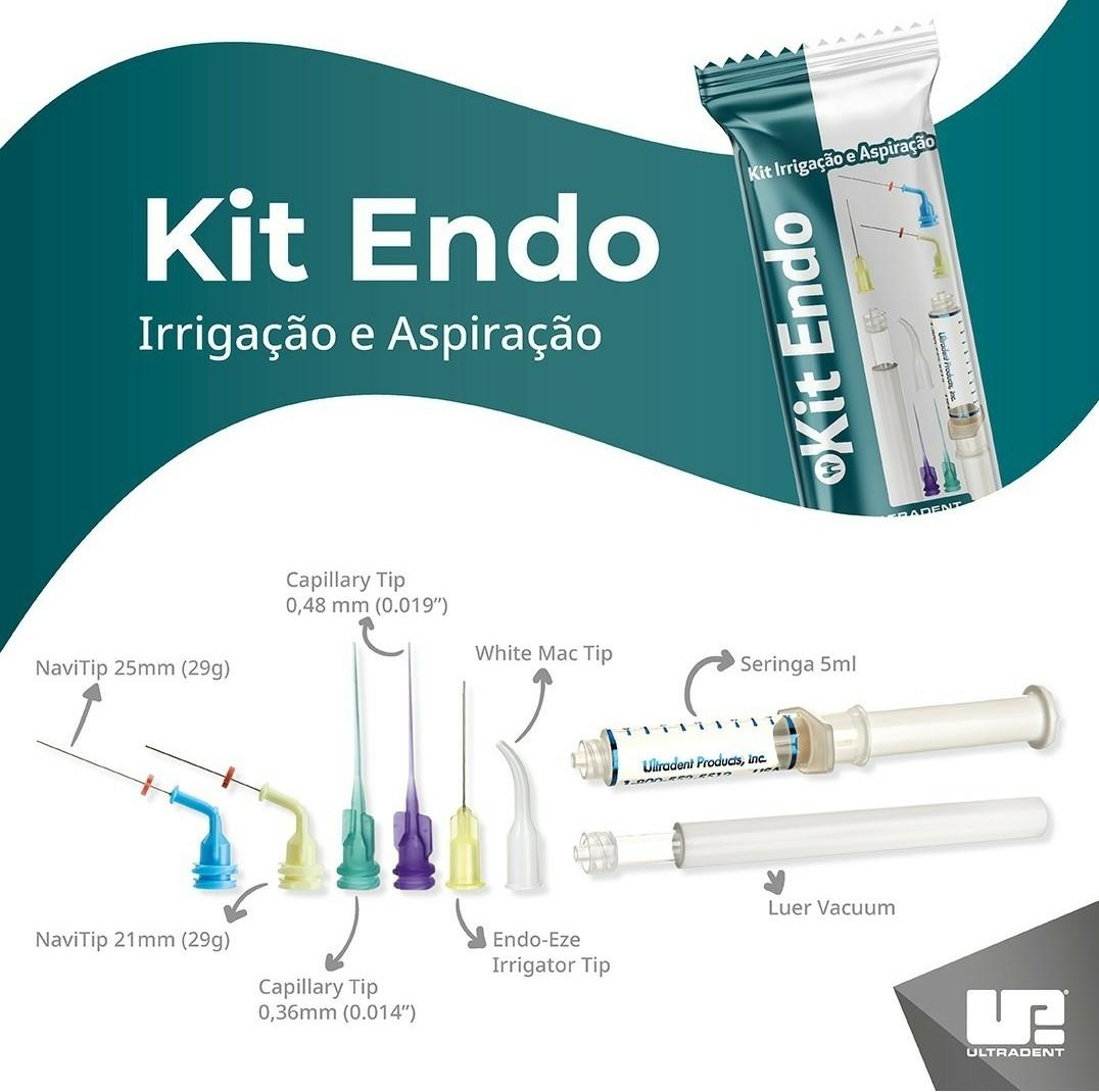 Kit Endodontia Ultradent - Irrigação e Aspiração