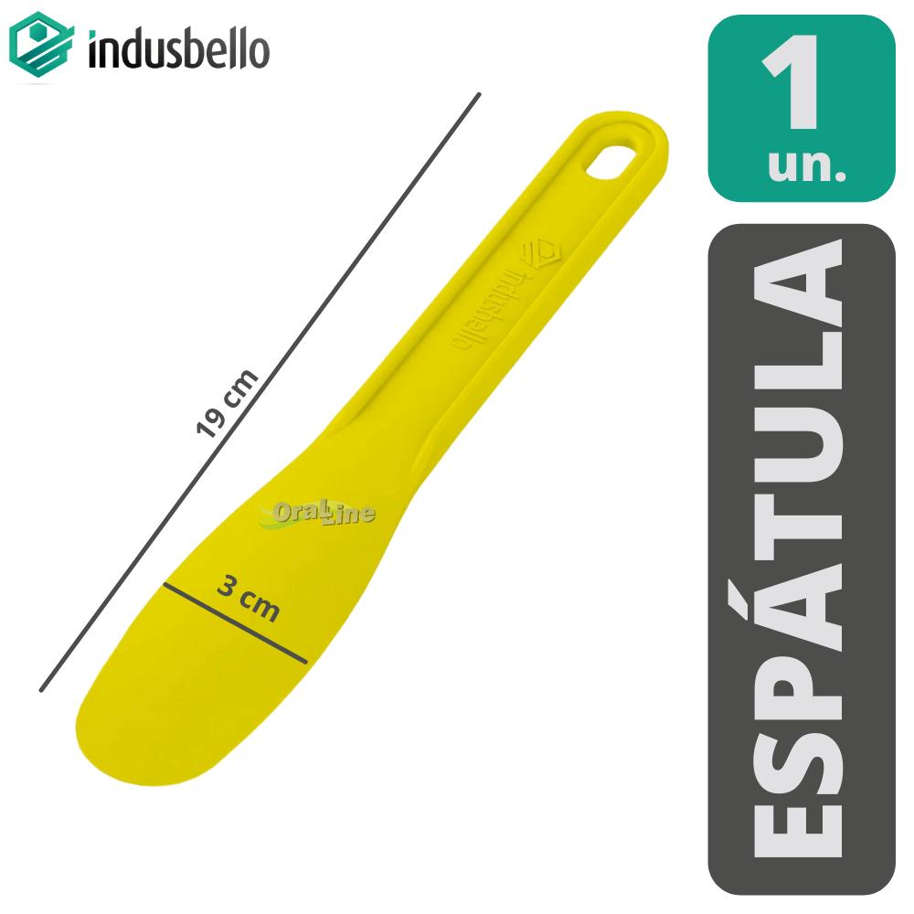 Kit Espatula Plástica Indusbello -  4 unidades