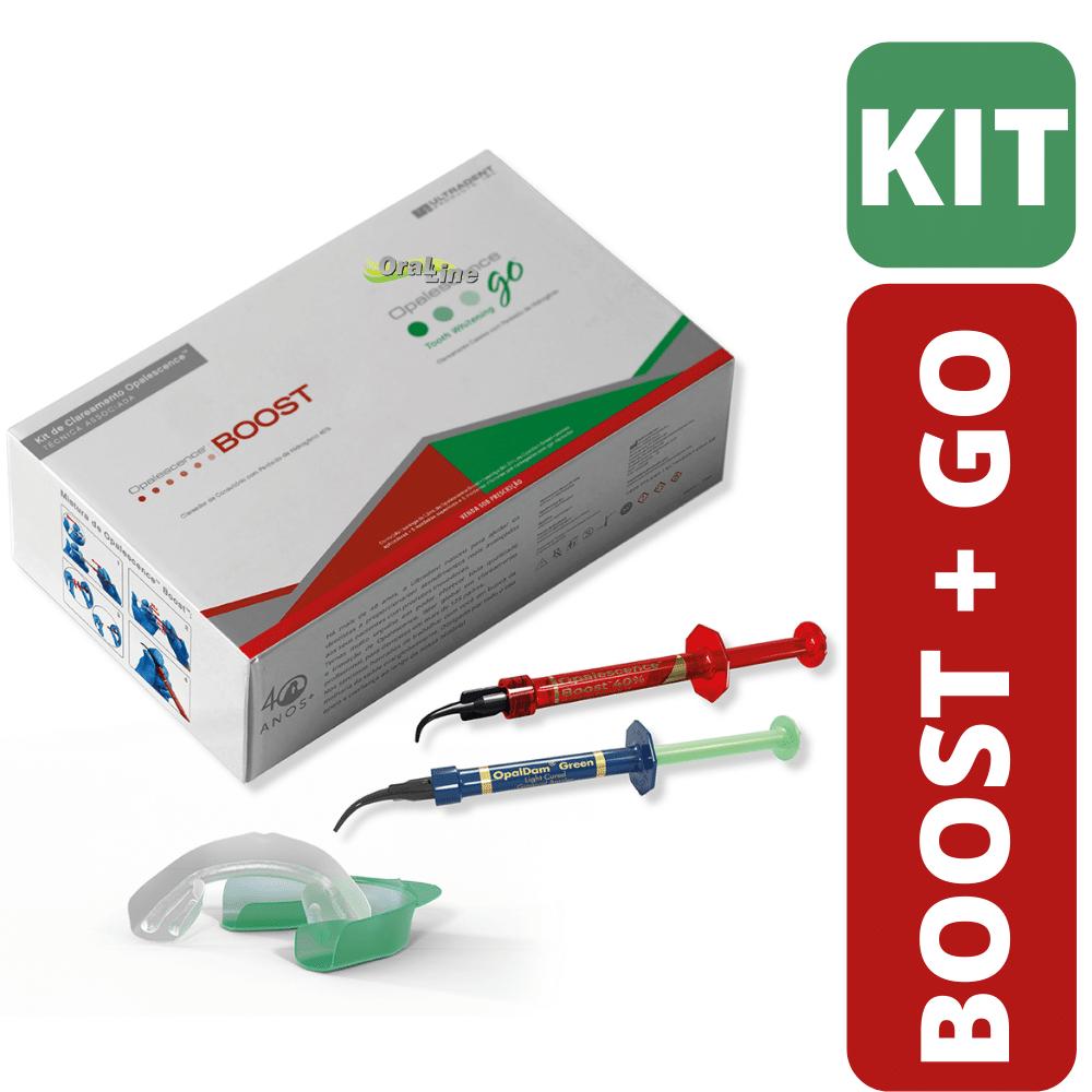 Kit Opalescence Boost 40% + Opalescence GO 15%
