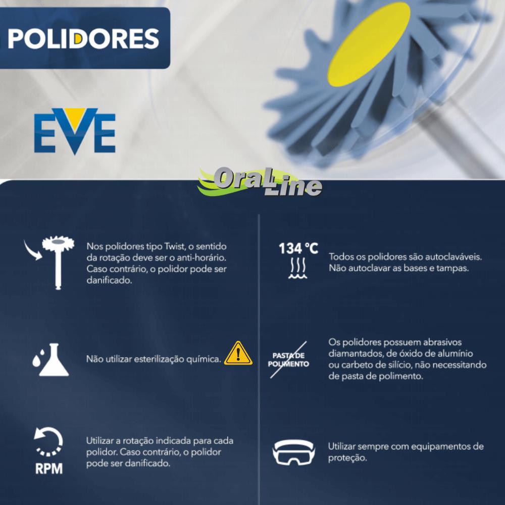 KIT Polidor EVE DIAPOL PONTA CA (Cinza/Rosa/Azul)