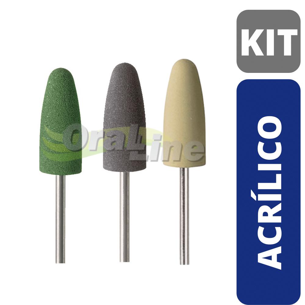 KIT Polidor para Acrílico -  3 unidades