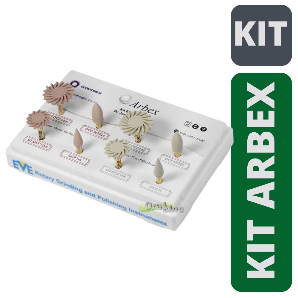 Kit Polidores Resina Composta Dr. Arbex - CA