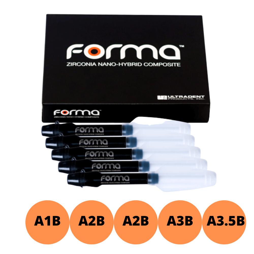 Kit Resina FORMA 5 Cores  - Ultradent