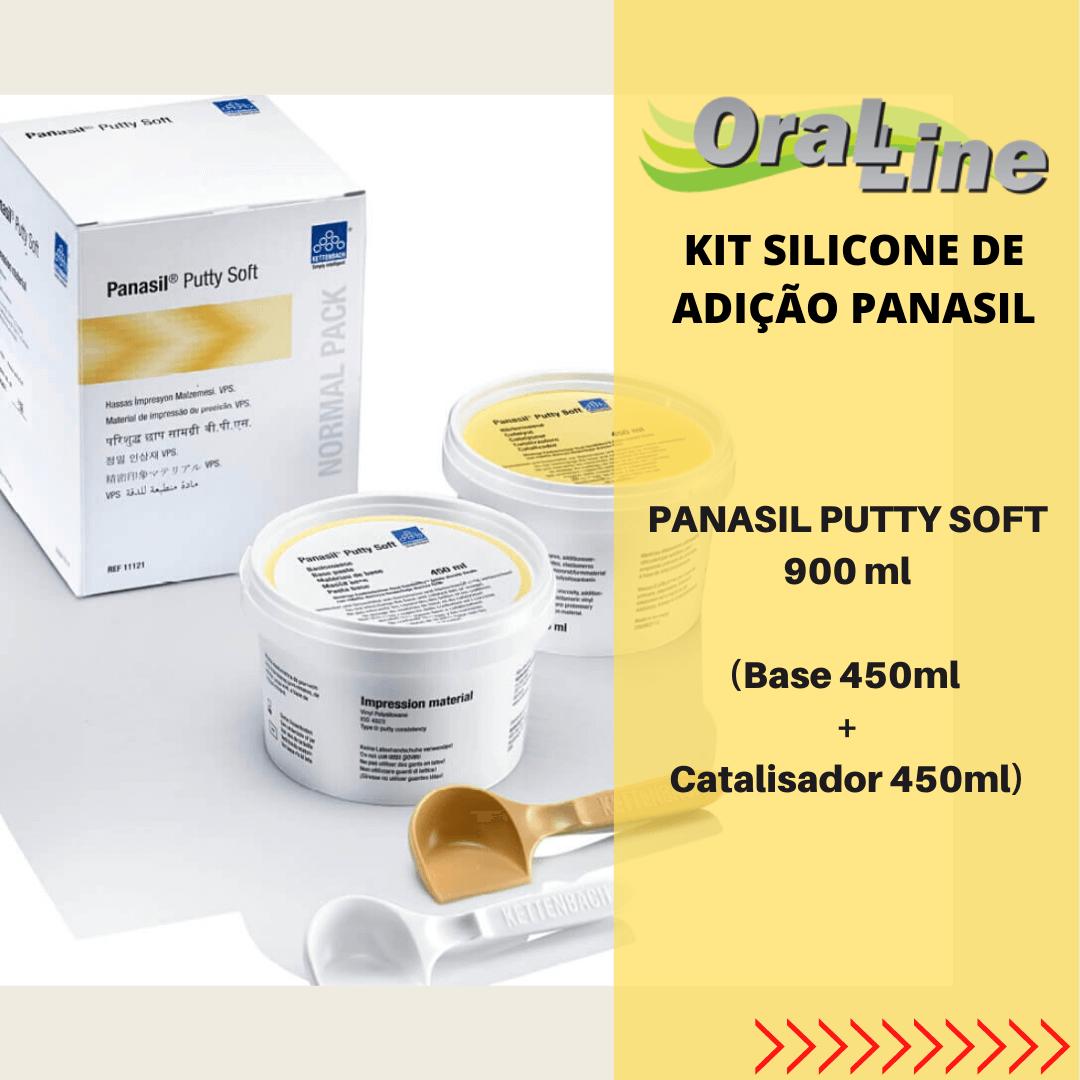 KIT Silicone Adição Panasil LIGHT