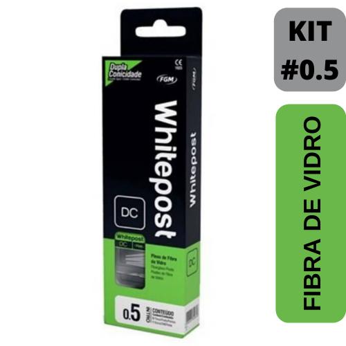 Kit WhitePost  - 5 pinos + broca
