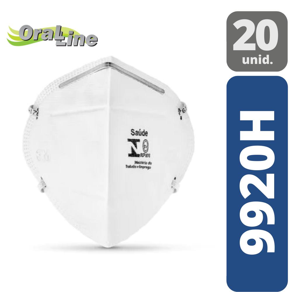 Máscara Descartável 3M - 9920H Dobrável (20 unidades)