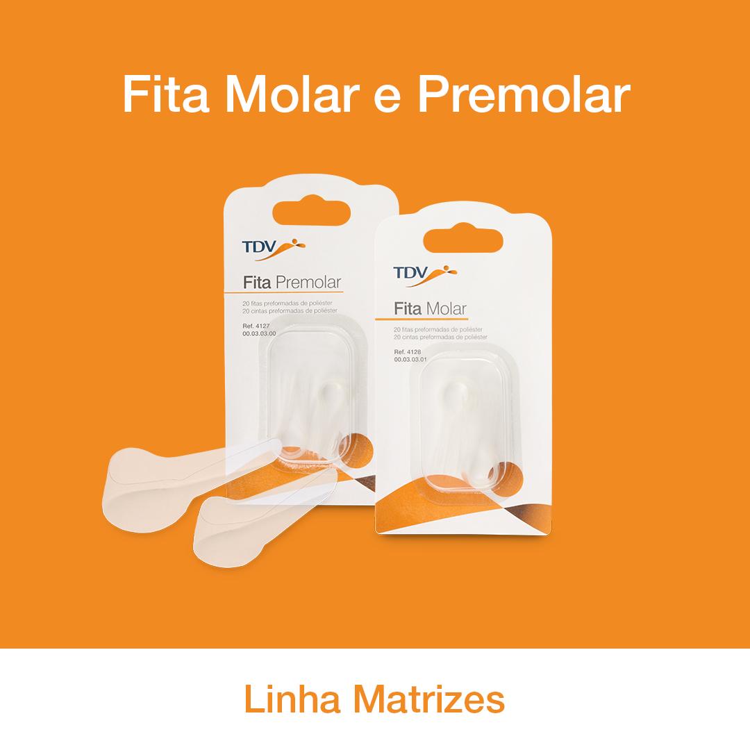 Matriz de poliéster Pré Curvada (Fita Molar ou Fita Pré Molar)