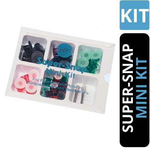 MIni Kit Discos de Polimento Super Snap - SHOFU