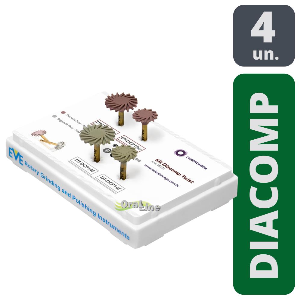 ODONTOMEGA - KIT EVE DIACOMP TWIST CA