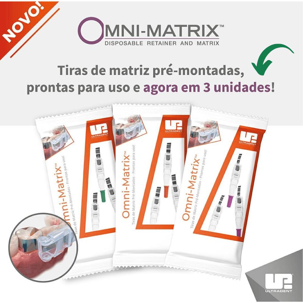 OMNI-MATRIX Roxa Pediátrica - 3 Unidades