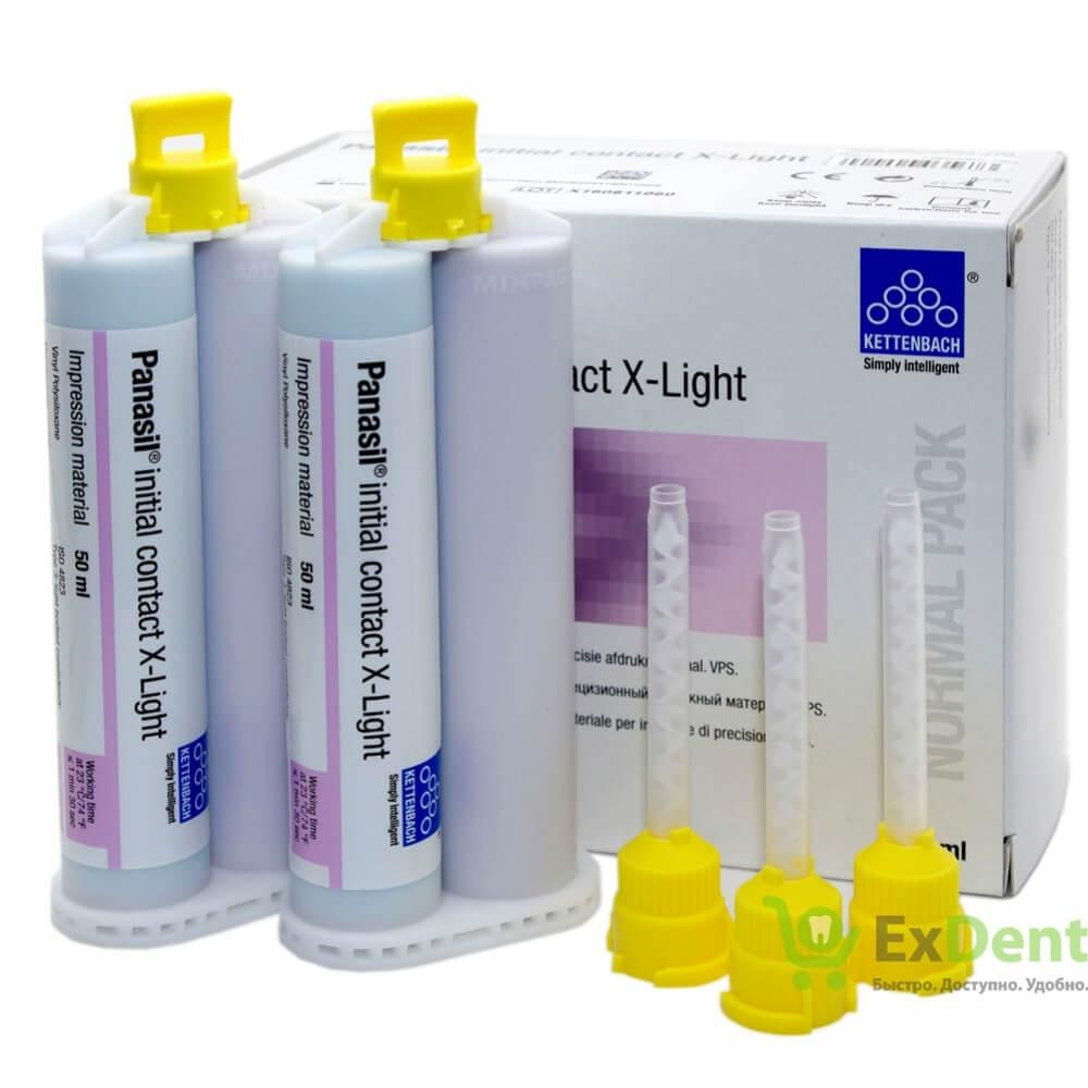 Panasil Initial Contact X-LIGHT - 2x50ml