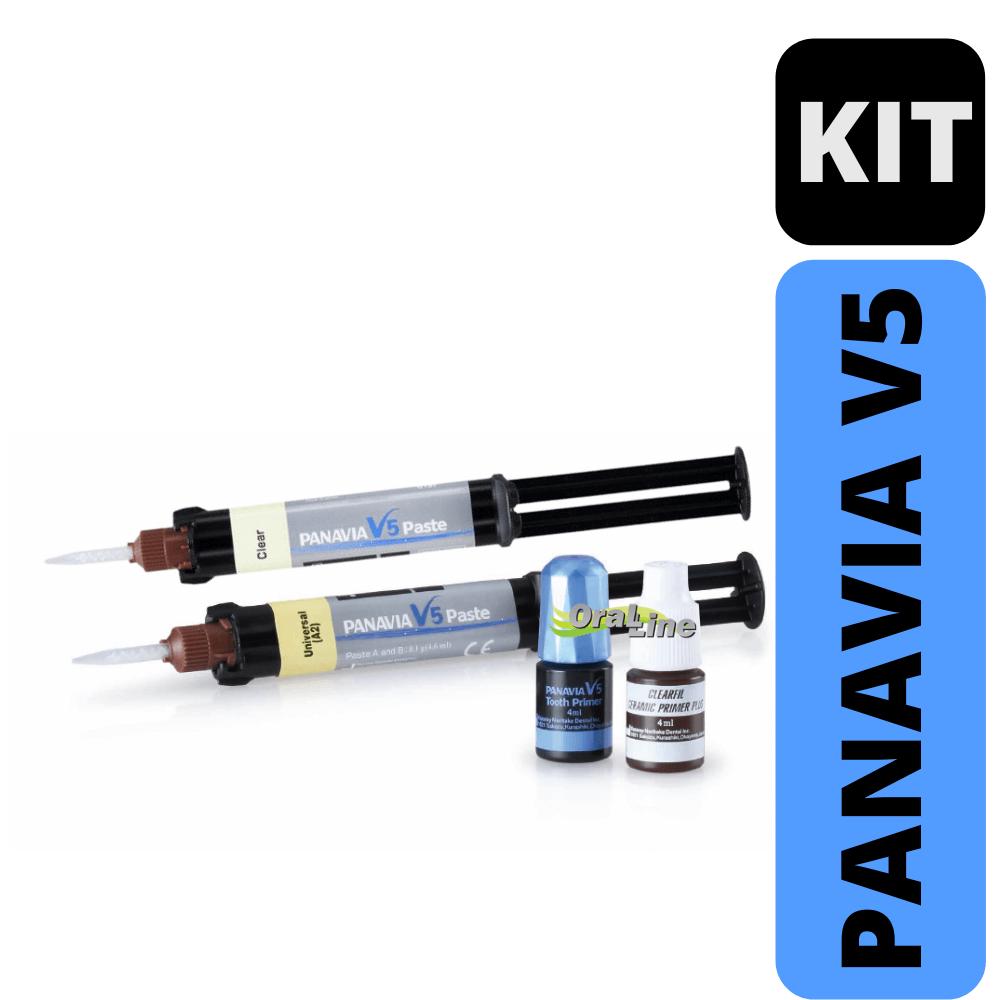 Panavia V5 - Kit  cores: Clear + A2 - Kuraray