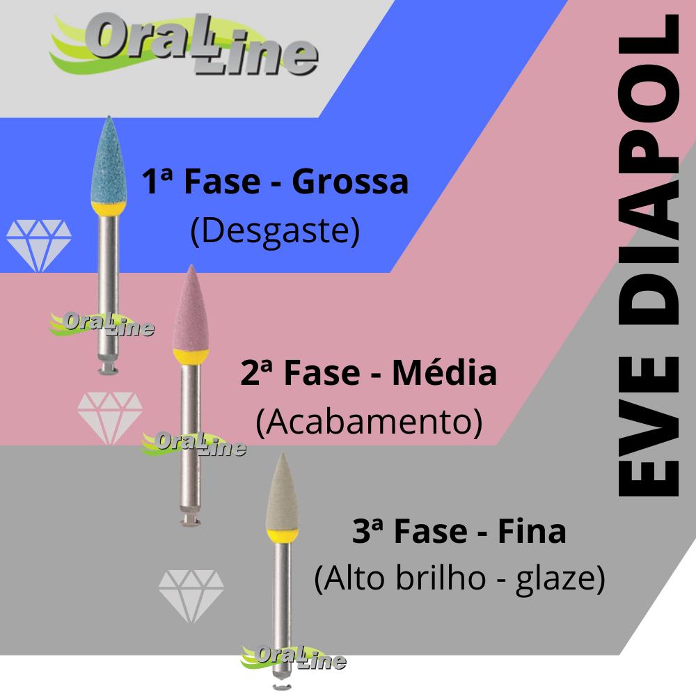 Polidor EVE DIAPOL PONTA - Cinza/alto brilho - CA