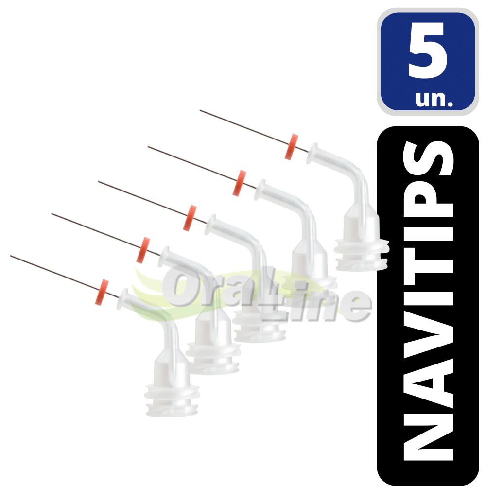 Pontas NaviTips (irrigação endodôntica) - 5 unidades