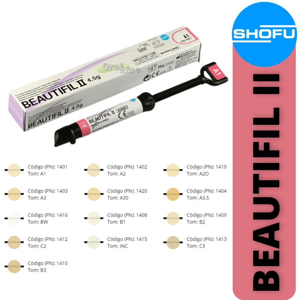 Resina Beautifil II - Shofu