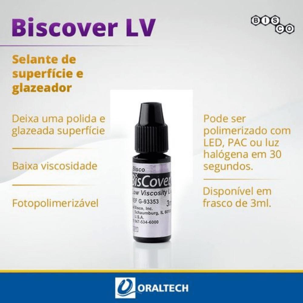 Selante de Superfície | Biscover LV 3ml | Bisco