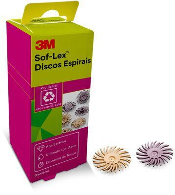 Sof-Lex Espiral 3M  - 6 unidades