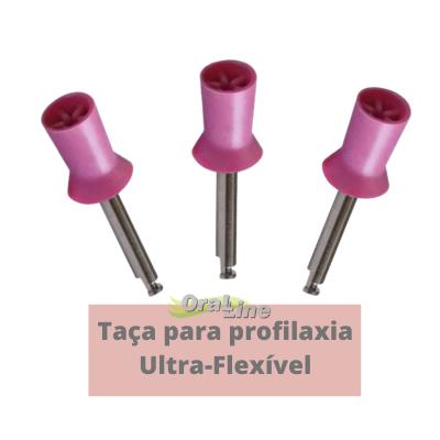 Taça de Profilaxia Ultra-flexivel - 3 unidades