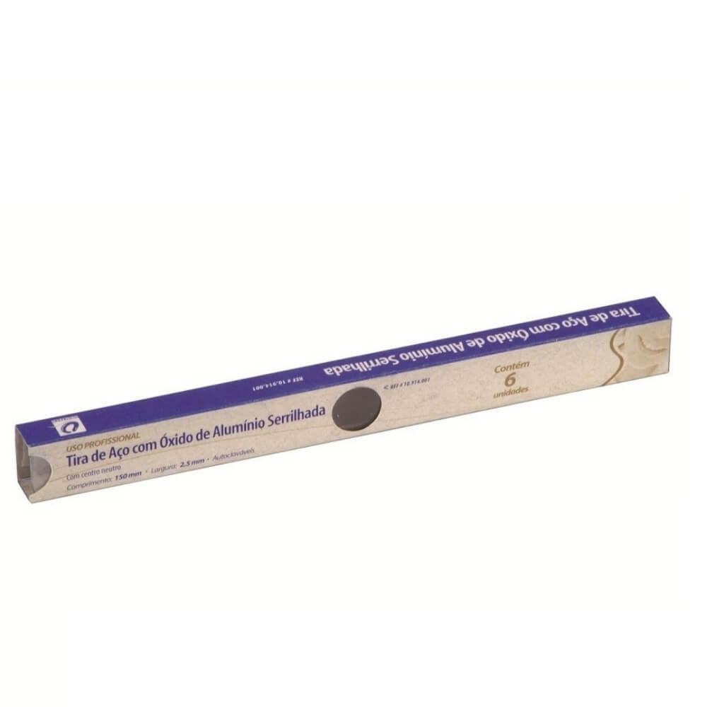 Tira Serrilhada Oxido de Alumínio - 6 unidades