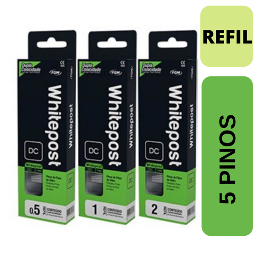 WhitePost DC Refil - 5 pinos fibra de vidro