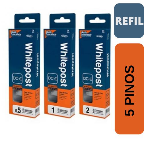 WhitePost DCE Refil - 5 pinos fibra de vidro