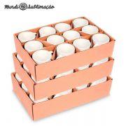 Caneca Prêmium Mundi - Cerâmica Branca para Personalizar com Sublimação - Classe A - Cx com 36 unidades