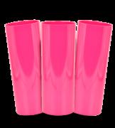 Long Drink Prêmium - Rosa Pink Fechado - Espessura 2mm - Cx c/ 100 Unidades