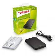 HD Externo 500GB Toshiba Canvio Basics USB 3.0 Preto