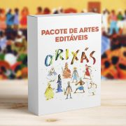 Kit 12 Artes Orixás para Canecas