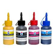 Kit 4 Cores Tinta Sublimatica Optimus - BM Chemical