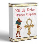 Kit de 12 Artes Deuses Egípcios para Canecas