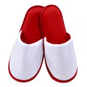 Pantufa Adulto para Sublimação - Vermelha