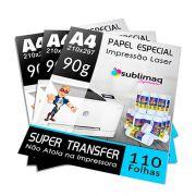 Papel para Impressão Laser - Super Prêmium - Superfícies Rígidas - Pacote c/ 500 folhas A4 - 90g