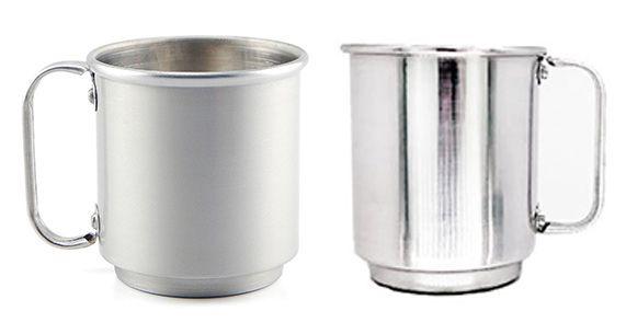 Caneca de Alumínio para Sublimação - 400 ml