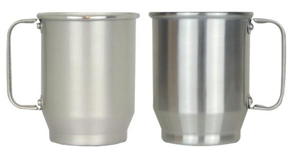 Caneca de Alumínio para Sublimação - 500 ml
