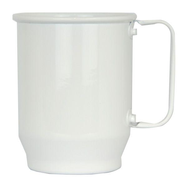 Caneca de Alumínio Sublimática Branca - 500 ml