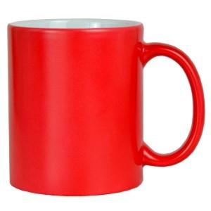 Caneca Mágica Vermelha para Sublimação de Cerâmica
