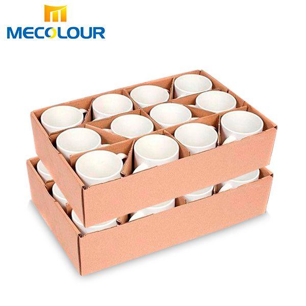Caneca Mecolour  de Cerâmica Branca para Personalizar com Sublimação - Classe AAA - Cx com 24 unidades