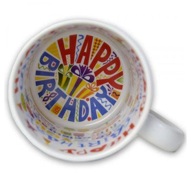 Caneca Tema Aniversário 325ml de Cerâmica - Classe A