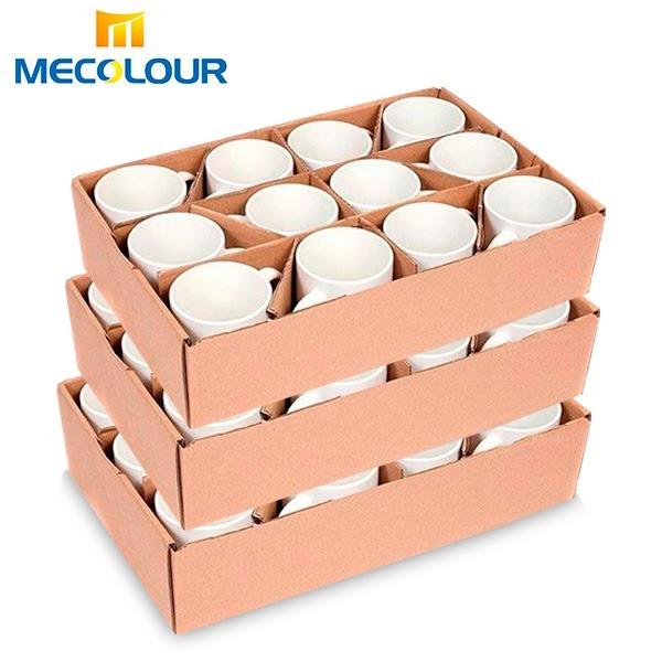 Caneca Prêmium Mecolour - Cerâmica Branca para Personalizar com Sublimação - Classe A
