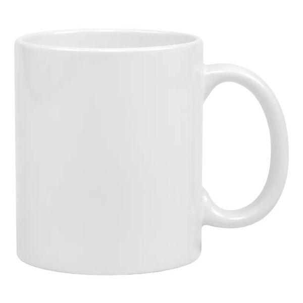 Caneca Sublimaçãode Cerâmica Branca - Classe AAA -  Mecolour ou Mundi