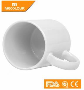Caneca Mecolour  de Cerâmica Branca para Personalizar com Sublimação - Classe AAA - Cx com 12 unidades