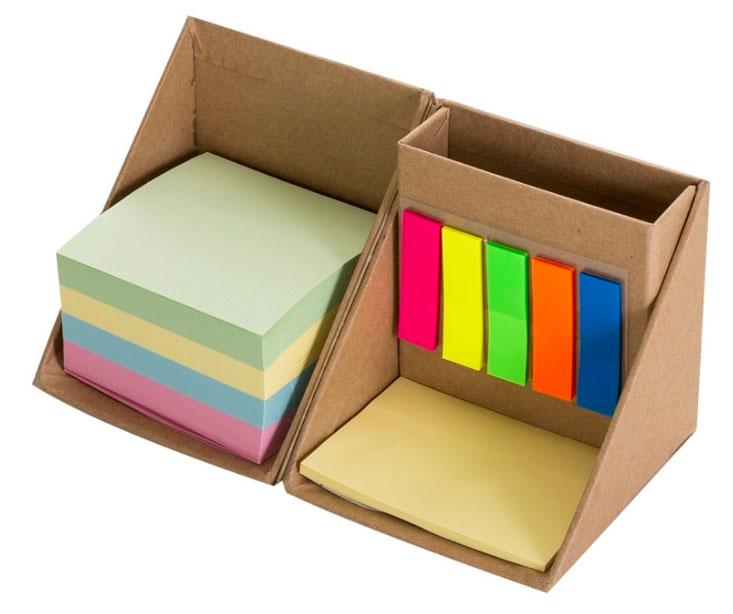 Cubo Organizador Eco C/ Bloco e Postits