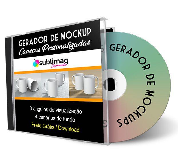 Gerador de Mockup PSD para Dupla de Caneca em 3 Cenários - Arquivo de download