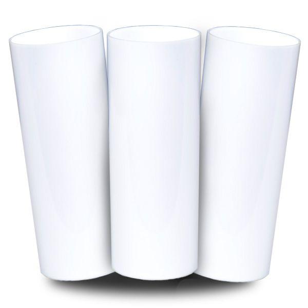 Long Drink Prêmium - Branco - Espessura 2mm - Cx c/ 12 Unidades