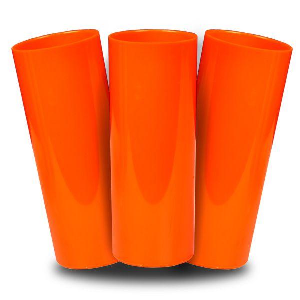 Long Drink Prêmium - Laranja Fechado - Espessura 2mm - Cx c/ 100 Unidades