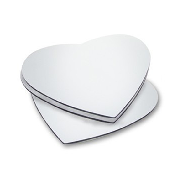 Mouse Pad Sublimático Emborrachado - Coração