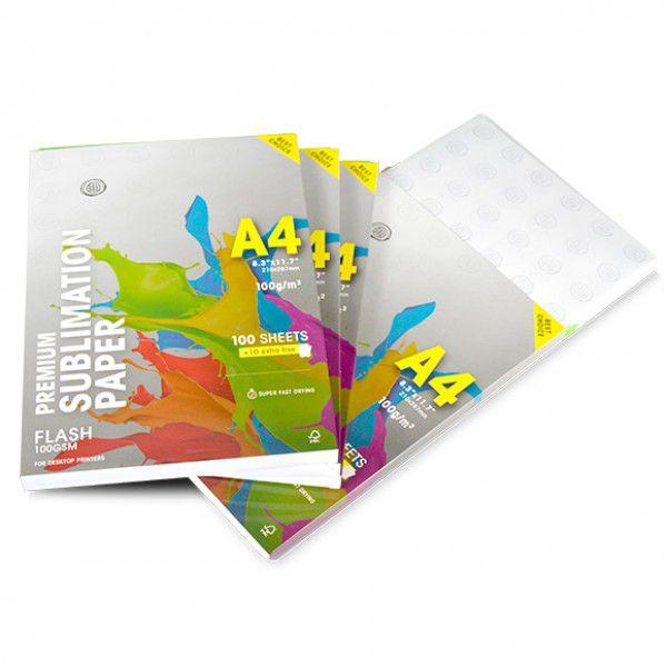 Papel Sublimático  Globinho - Pacote Original C/ 110 folhas A4  - 100g